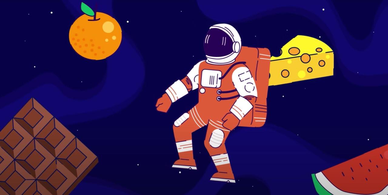 Сублимация и еда для космонавтов