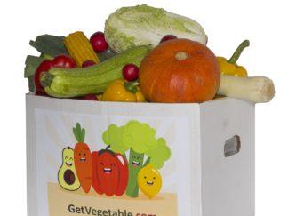 Доставка коробки овощей