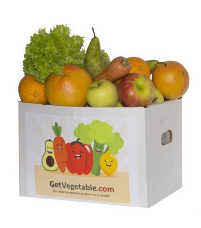 Заказать фрукты и овощи в коробке