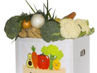 Доставка овощной коробки