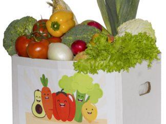 Овощи в коробке в Москве